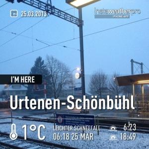 Schonbühl at 25.03.2013